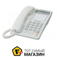 Проводной телефон Panasonic KX-TS2365 White (KX-TS2365RUW)