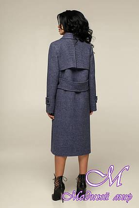 Жіноче двобортне пальто весна осінь (р. 44-54) арт. 12-32/11, фото 2