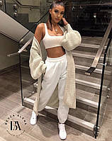 Спортивные штаны белые весенние женские размеры  42-44 46-48 Новинка 2020 есть цвета