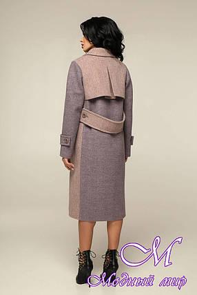 Свободное женское пальто большого размера (р. 44-54) арт. 12-32/22-В4, фото 2