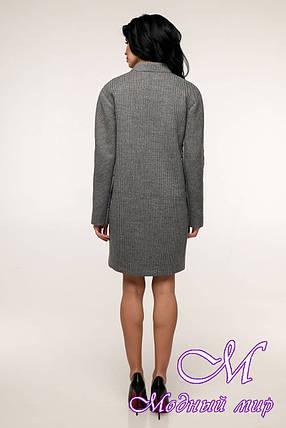 Стильное женское пальто весна осень (р. 44-54) арт. 11-05/7-19, фото 2