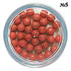 Румяна в Шариках с Белым Спонжем, тон 05 Коричневый, Декоративная Косметика для Лица, фото 3