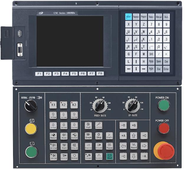 """Система ЧПУ SZGH-CNC1000TDb-2 для токарных станков с панелью оператора """"Е"""""""