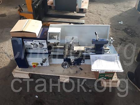 Zenitech MD 250-450 F Токарный станок по металлу (c механической коробкой) зенитек мд 250 450 ф, фото 2