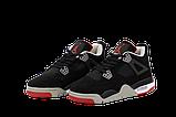 Баскетбольные кроссовки Nike Air Jordan (Premium-class) черные, фото 3