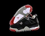Баскетбольные кроссовки Nike Air Jordan (Premium-class) черные, фото 4