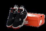 Баскетбольные кроссовки Nike Air Jordan (Premium-class) черные, фото 6
