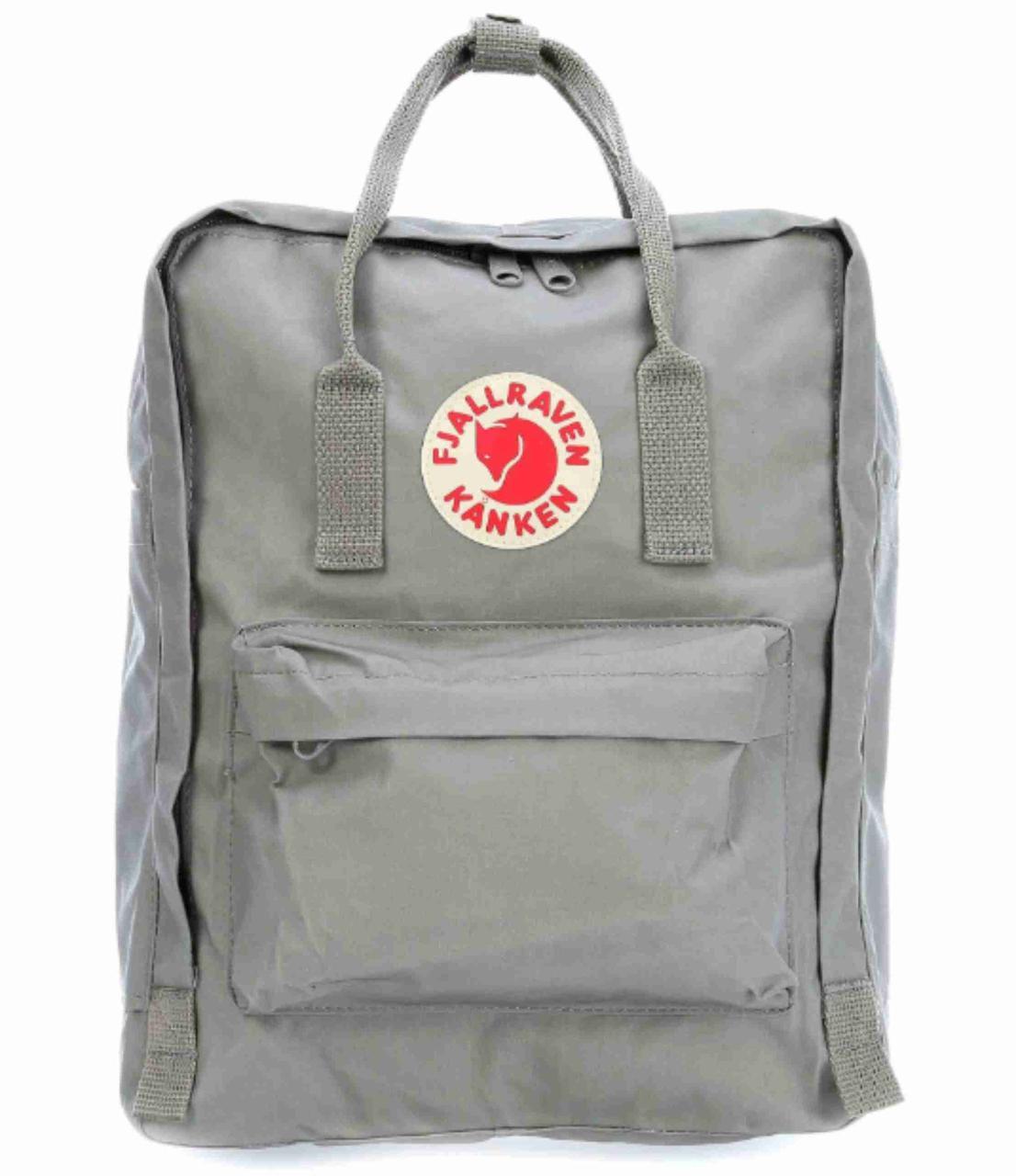 Рюкзак Fjallraven Kanken Classic. Вместительный рюкзак. Рюкзаки Канкен. Рюкзак Шведский Канкен. Серый