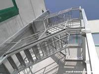 Металлические лестницы и ограждения