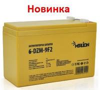 Тяговый аккумулятор Merlion 6-DZM-9 12В 9Aч F2, фото 1