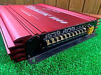 Автомобильный усилитель звука MAC Audio red attack 5000  4/3/2 Канальный