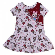 Летнее платье для девочки Лол (3-6 лет)