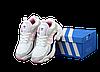 Женские кроссовки adidas Consortium x Naked Magmur Runner (оригинал) белые с розовым, фото 7