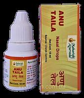 Ану Таил, капли для носа, Махариши Аюрведа, Anu Tail, Maharishi Ayurveda 10 ml, фото 1