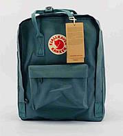 Рюкзак Fjallraven Kanken Classic. Вместительный рюкзак. Рюкзаки Канкен. Рюкзак Шведский Канкен. Бирюза, фото 1