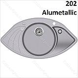 Гранітна мийка AquaSanita Papilon SCP-151 AW (945х505 мм.), фото 8