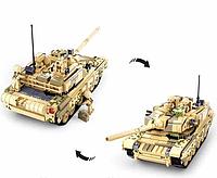Конструктор Военная техника Боевой танк 2в1 Sluban 893 детали m38-b0790