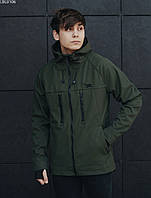 Куртка Staff soft shell haki. [Размеры в наличии: XS,S,M,L,XL,XXL]