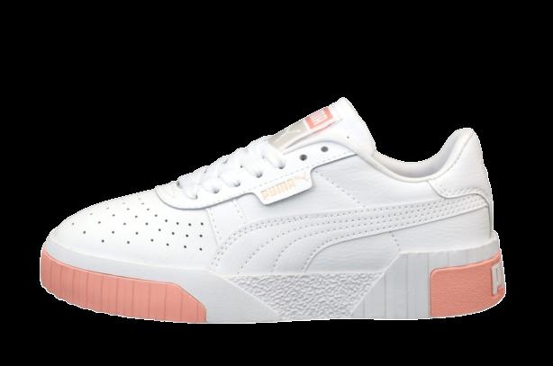 Женские кроссовки Puma Cali (Пума Кали) белые