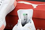 Женские кроссовки Puma Cali (Пума Кали) белые, фото 6