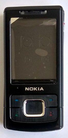 Корпус для Nokia 6500 Slide Black
