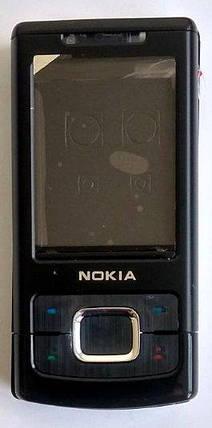 Корпус для Nokia 6500 Slide Black, фото 2