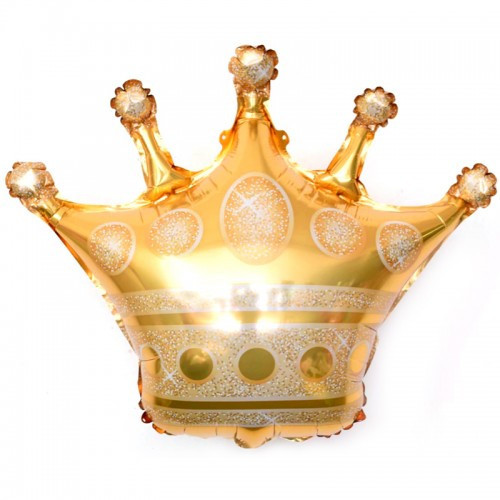 Воздушный шар на девичник Корона 70 х 75