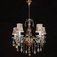 Люстра с абажуром хрустальная IMPERIA пятиламповая LUX-451064