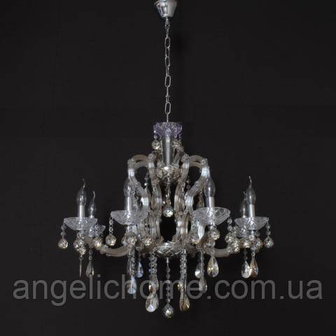Люстра со свечами хрустальная IMPERIA восьмиламповая LUX-456413