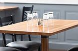 Столешницы из натурального дерева в стиле LOFT для столов в кафе, фото 5