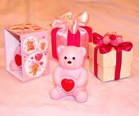 """Подарочное ароматизированное мыло """"Мишка"""" ручной работы"""