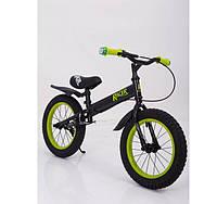 Детский Беговел Racer BA14-04 black-green
