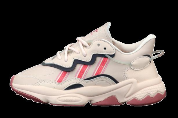 Жіночі кросівки adidas Ozweego (адідас озвиго) різнокольорові
