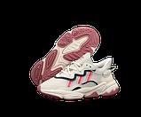 Жіночі кросівки adidas Ozweego (адідас озвиго) різнокольорові, фото 4