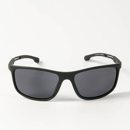 Оптом поляризационные  спортивные мужские солнцезащитные  очки  (арт. P19/2) черные, фото 2