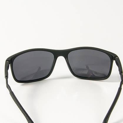 Оптом поляризационные  спортивные мужские солнцезащитные  очки  (арт. P19/2) черные, фото 3
