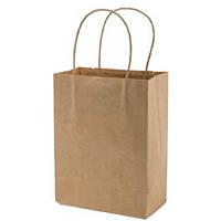 Пакет бумажный коричневый с ручкой 400*350*140 мм