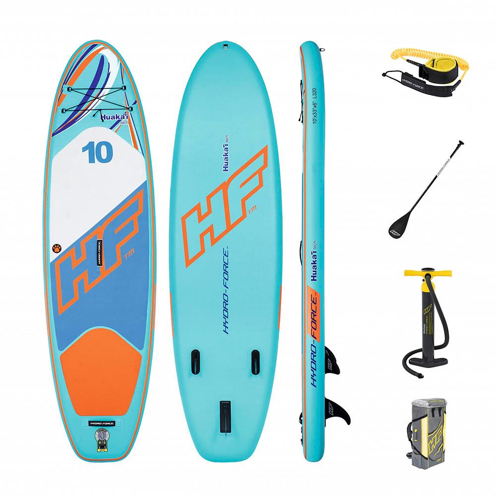 Надувная доска для плавания серфинга с веслом SUP-борд BESTWAY 65330