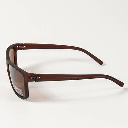 Поляризационные  спортивные мужские солнцезащитные  очки  (арт. P76070/3) коричневые, фото 2