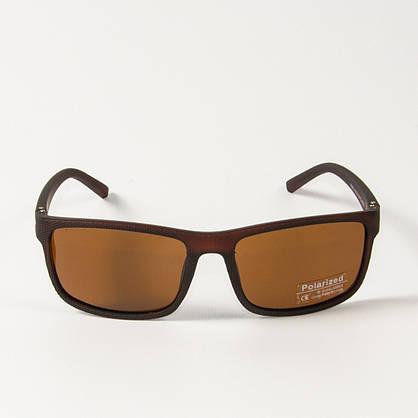 Оптом поляризационные  спортивные мужские солнцезащитные  очки  (арт. P76070/3) коричневые, фото 2