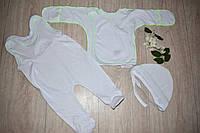 Комплект для новорожденного белый