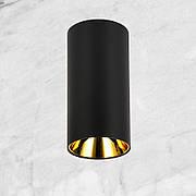 Чёрный светодиодный светильник с направлением света