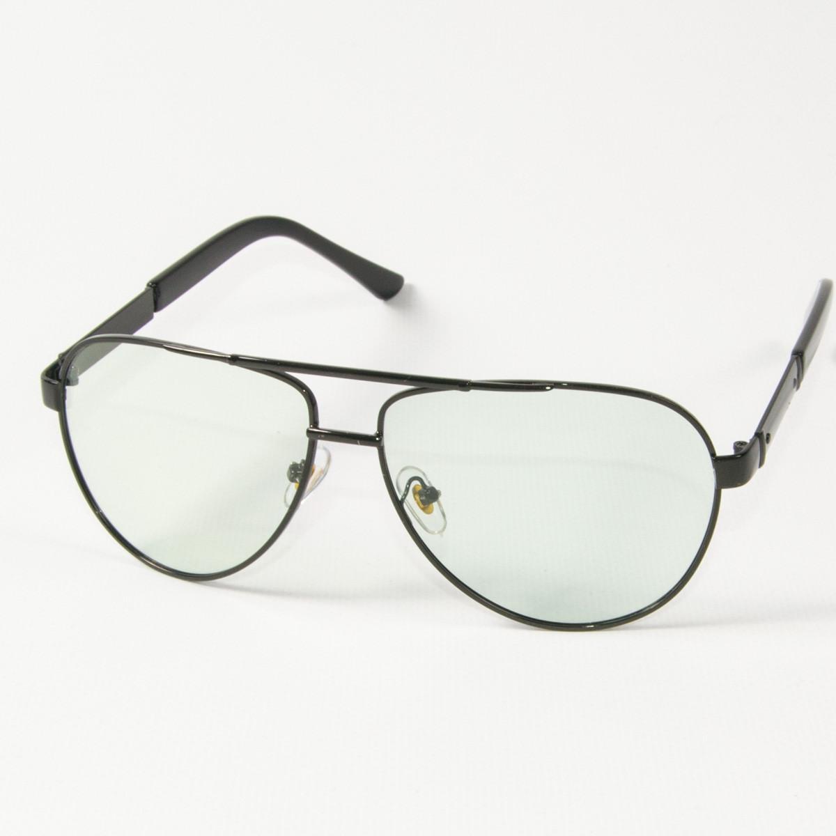 Оптом имиджевые поляризационные очки  (арт. P9108-H/1) с черной оправой