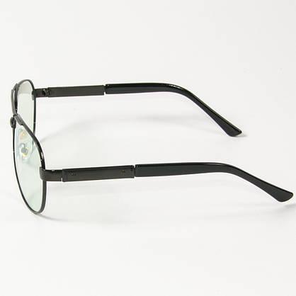 Оптом имиджевые поляризационные очки  (арт. P9108-H/1) с черной оправой, фото 2
