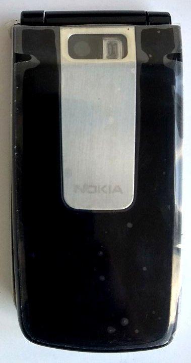 Корпус для Nokia 6600 Fold Black