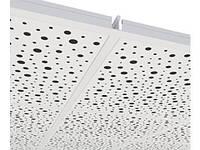 Звукопоглощающие перфорированные гипсовые плиты Knauf Danoline (Дания) Plaza, фото 1
