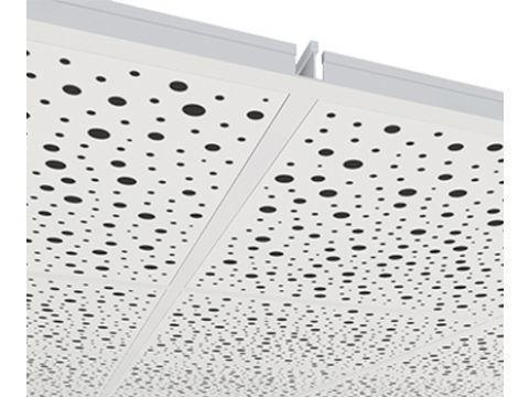 Звукопоглощающие перфорированные гипсовые плиты Knauf Danoline (Дания) Plaza