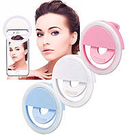 Аккумуляторная вспышка-подсветка для телефона селфи-кольцо XJ-01 Selfie Ring Light