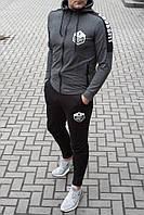 Мужской спортивный костюм Crossfit с капюшоном