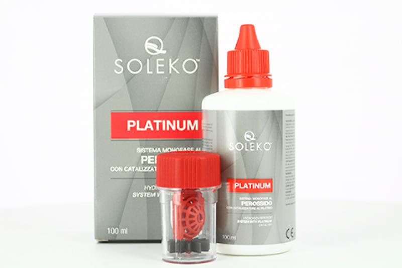 Пероксидна система для контактних лінз Soleko, Platinum, 100 мл